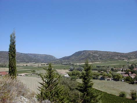 view from the mills over the valley